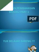 Biologi Sma Minggir Part 1