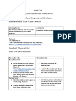 pdf lesson plan form of fluency and flow