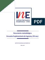 Documento Metodologico Esi 2017