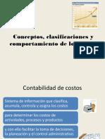 Conceptos, Clasificaciones y Comportamiento de Los Costos
