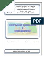 Contratos Nominados e Innominados. Informe Cruz M (2)
