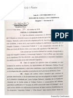 Resolución de Irurzun sobre jurisdicción de causa #AportantesTruchos