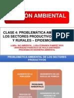 Sectores Productivos -Ecotoxicologia y Epidemiologia