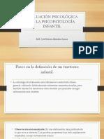 Evaluación Psicológica de La Psicopatología Infantil