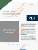The Good Censor Google Leak