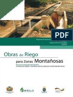 Obras de Riego p Zonas Montañosas (Proagro, 2012)