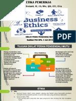 Diklat PM 5 Juli 2018- Etika Pemeriksa SVD