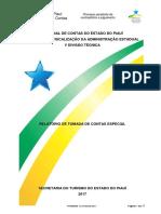 RELATÓRIO TOMADA DE CONTAS SETUR-PI 2015