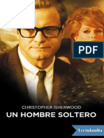 Un Hombre Soltero - Christopher Isherwood