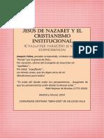 Jesus de Nazaret y El Cristianismo Institucional