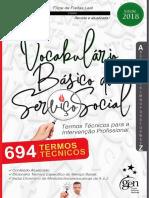 Dicionário Básico Do Serviço Social - Termos Técnicos Para a Intervenção Profissional