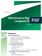 Maintenance Dept Presentation (Lafarge Langkawi Plant)