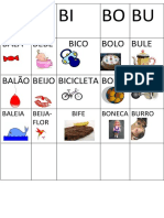 Alfabeto Novo b