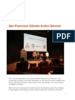 San Francisco Climate Action Summit