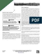 Daikin AC Installation Manual
