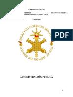 Compendio Administración Pública 2017