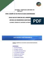 Diseno de Pozos de Aguas Subterraneas 2018 II