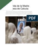 La Vida de La Madre Teresa de Calcuta