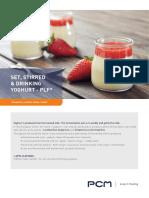 Pcm Application Sheet Yoghurt 0
