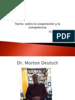 Teoría Sobre La Cooperación y La Competencia