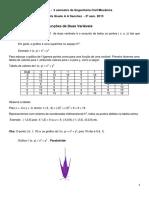 2013 -2 Sem - Aula 2 - Gráfico e Curvas de Nível