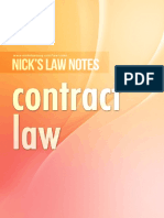 Nick's Notes - Contract (Part 2)