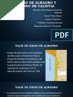 Diego de Almagro y Pedro de Valdivia