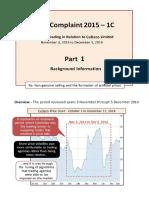 Transcript of  YouTube Videos 2015 ASIC Complaints 1C Parts 1 and 2.pdf