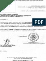 Carta de Aceptacion Servicio Social