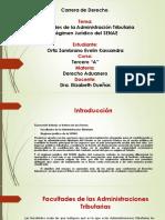 Facultades de la Administración Tributaria Régimen Jurídico del SENAE