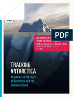 WWF Report Tracking Antarctica
