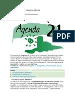 Qué es la Agenda 21