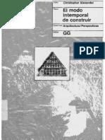 Alexander, Christopher - El Modo Intemporal de Construir.pdf