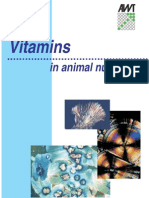 Vitamins in Animal Nutrition
