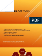 7 General Rule of Tenses