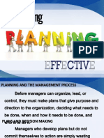 Chapter 4 Making Planning Effective Pptx