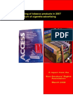 Tobacco Promotion 2008