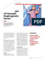 Prop Surgical Repair of Traumatic Diaphragmatic Hernia 38756 Article