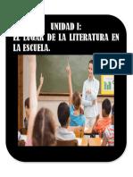 UNIDAD I. EL LUGAR DE LA LITERATURA EN LA ESCUELA..docx