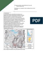 Hidrogeoquímica de Aguas Termales y Mineralizadas de La Zona de (1)