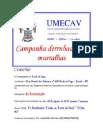 Carta Convite Ministerio de Paulista