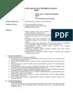 RPP Bab Materi Dan Perubahannya