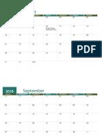 Academic Calendar (Any Year)1
