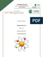 Programa Quimica General II BIE-10 IIIciclo 2018