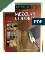 Libro Mezclar Colores - Parramón