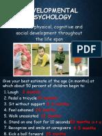 developmental  day 1 fall 2018