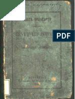 """""""Înalta ordonança asupra serviciului interior alu trupeloru pedestre"""",tipografia Stephan Rassidescu,Bucuresci,1862"""
