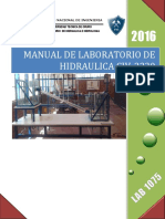 Manual de Laboratorio de Hidraulica
