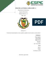 Informe 2. Conexiones y Pruebas Transformador