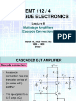Chapter 3 - Multistage Amplifier (Cascode).PPT